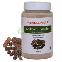 Шикакай порошок / Herbal hills Shikakai Powder / 100 г