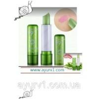 Помада, меняющая цвет! с Алоэ Вера Aloe Vera 99% Magic Lip  3.2 г