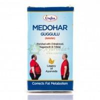 Препарат для похудения Медохар Гуггул / Medohar Guggulu UNJHA / 60 таб
