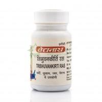 Трибхуванкирти рас от кашля, Байдинах / Tribhuvankirti ras, Baidyanath / 80 таб.