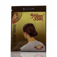 Хна травяная Мун Cтар для волос  / Moon Star, Brown /10гр