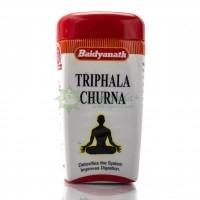 Трифала Чурна - Порошок для очищения кишечника, Байдианат, Байдинах / Triphala Churna Baidyanath / 100 г