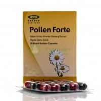 Витамины пыльца, женьшень Pollen Forte Mepaco 20 кап