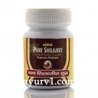 Шиладжит, Шилажит, Мумие, Pure Shilajeet Powder  Nidco 50 g