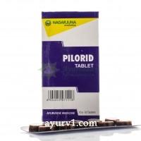 Пилорид, керальские  таблетки от геморроя и варикоза / 100 таб