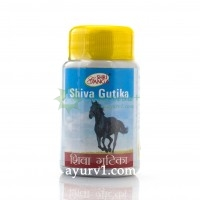 Шива Гутика, Shiva Gutika Shri Ganga, 50 г- 100 таб.