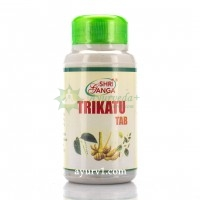 Трикату таб, Шри Ганга / Trikatu tab, Shri Ganga / 120 tabs