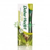 Зубная паста Хербал с нимом / Dabur Herb'l Neem / 150 г + зубная щетка