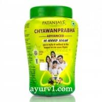 Чаванпраш Патанжали без сахара, Patanjali Chyavanprabha Advanced 750 г