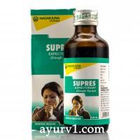Отхаркивающий сироп от кашля Supres Nagarjuna 100 мл