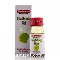 Шадбинду капли назальные, Байдинах  / Shadbindu tail, Baidyanath /  25 мл.