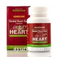 Хорошее Сердце, Травяные Капсулы Кардиопротектор / Good Heart: Herbal Heart Care Capsules Cardio Protector GOODCARE / 60 кап