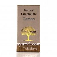 Натуральное эфирное масло Лемон / Чакра / 10 ml