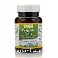 Трифала Чурна, Махариши Аюрведа / Triphla Churna, Maharishi Ayurveda / 50 tab