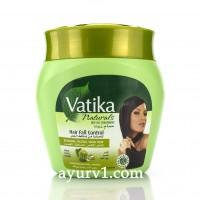 Маска против выпадения волос, Vatika, Hair Fall Control Hot Oil Treatment, 500 г
