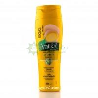 Шампунь с яичным белком для слабых и тонких волос Дабур Ватика, Dabur Vatika, ОАЭ, 200 мл