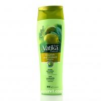 Шампунь Ватика с оливковым маслом, для питания и защиты / DABUR VATIKA NOURISH & PROTECT SHAMPOO / 200 мл