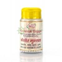 Кайшоре гуггул - обладает противовоспалительным, противомикробным и антибиотическим действием /Kasishok Guggulu, Shri Ganga / 50г
