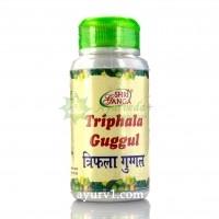 Трифала Гуггул, Шри Ганга / Trifala Guggul, Shri Ganga / 100 г