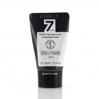 Пенка для умывания с пептидами May Island 7 Days Secret Peptide 8 Plus Cleansing Foam 30 ml