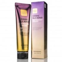 Укрепляющая маска для волос с керамидами, Shining Silk Repair Hair Treatment Ceramide, Farm stay, 150 мл
