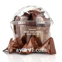 Крем для рук с экстрактом какао, Ayoume Enjoy Mini Choco Hand Cream 3 г