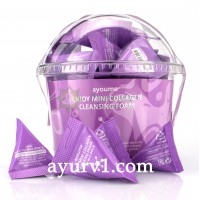 Пенка для умывания с коллагеном Ayoume Enjoy Mini Collagen Cleansing Foam Set, 3 г