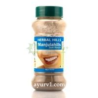 Аюрведический зубной порошок / DANT Manjan - Dental Health, Herbal Hills  / 40 гр