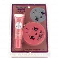 Набор ББ крем + бб пудра  - 2 в 1! Obuse Color Mood, Perfect BB, Foundation + Powder Корея