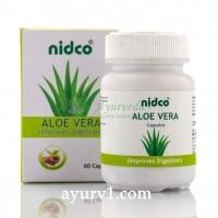 Алое вера в капсулах, Aloe vera Nidco 60 кап.