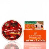 Гидрогелевые патчи для кожи вокруг глаз с томатом / Hydrogel Eye Patch Natural Tomato Swld / 60 штук