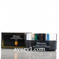 Гидрогелевые патчи с экстрактом прополиса  /  JMsolution Honey Luminous Royal Propolis Eye Patch / 90 г.