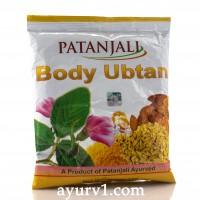 Убтан для лица и тела Патанджали / Patanjali Body Ubtan. 100 г.