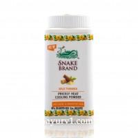 Охлаждающий тальк для лица и тела с танакой, Прикли Хит / Prickly Heart, Snake Brand / 50 г