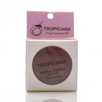 Бальзам для губ с кокосовым маслом 3 вида, ТРОПИКАНА  / Tropicana Natural Coconut Lip Balm Mango Spirit / 10 гр
