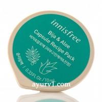 Ночная маска с маслом дерева Торреи и соком Алоэ, Bija & Aloe Capsule Recipe Pack 10ml