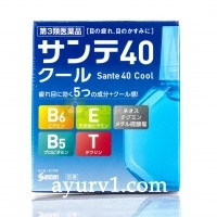 Глазные капли Sante 40 Cool Япония 12 мл