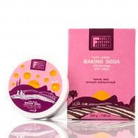 Скраб-сода для лица, для комбинированной, жирной и проблемной кожи  Family Forever Factory 200 г