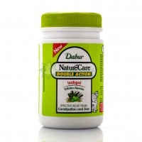 Натуральное слабительное, Исабгол / Nature Care Double Action, Isabgol,Dadur / 100 g