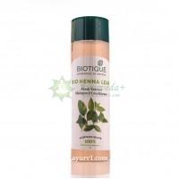 Шампунь Био Хна / Bio Henna Leaf Fresh Texture Shampoo, Биотик, Biotique / 190 мл