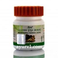 Махайоградж Гуггул / Mahayograj Guggul, Patanjali / Divya Pharmacy* / 60 таб