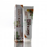 Зубная паста, Дант Канти, Патанджали Регулар / Dant Kanti, Patanjali Natural  Regular / 100 g