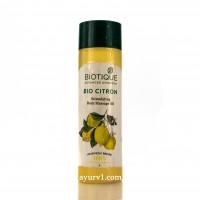 Массажное масло Лимон Bio Citron Biotique 200 мл