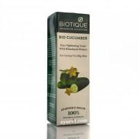 Сужающий поры тоник Огуречный, Bio Cucumber Biotique 120 мл