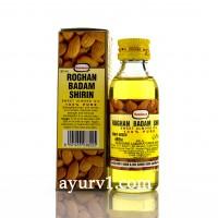 Миндальное масло - не содержит синтетических и токсичных примесей / Roghan Badam Shirin / 60 ml