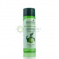 Шампунь-кондиционер  био зеленое яблоко / Биотик, Biotique bio green apple Shampoo&Conditioner / 120 мл