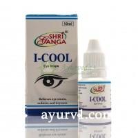 Глазные капли Айкул,  I-COOL Shri Ganga Индия 10 мл
