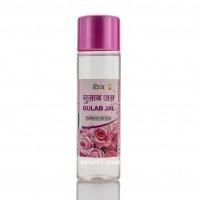 Розовая вода Гулаб Джал -тоник для лица, пищевая, Gulab Jal Divya Pharmacy, 120 мл.