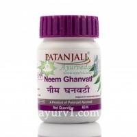 Ним Гханвати/ Neem Ghanvati / Патанджали / Neem Khan Vati, Patanjali / 60 таб