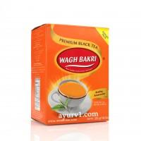 Чай черный индийский, Wagh Bakri, 225 г